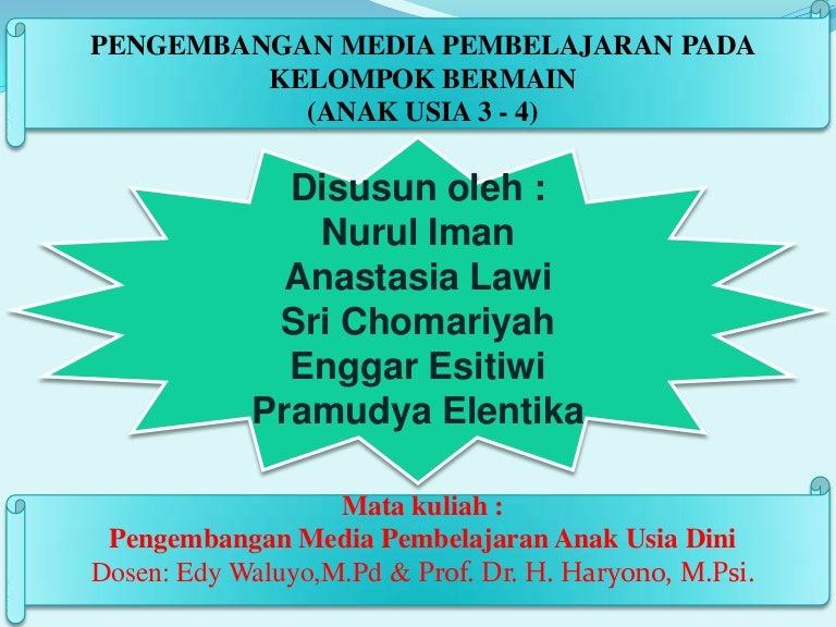 Ppt Media Pembelajarn Aud