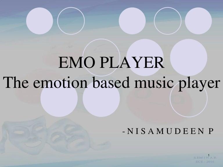 Emotion based music player
