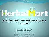 Online Pure Herbal and Ayurvedic Products Store - Herbal Mart