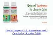 Ulcerin Compound 1 and 2 Capsules for Ulcerative Colitis
