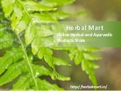 Herbal Mart - India's Leading Online Herbal & Ayurvedic Products Store