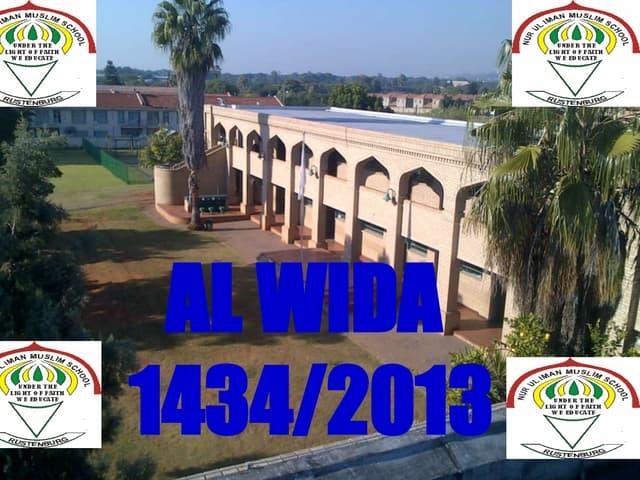 Ppt al wida-mNur-ul-Imaan Muslim Sc...