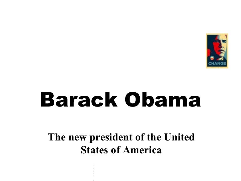 Barack obama ppt template.