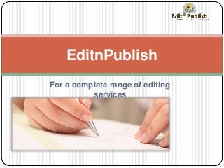 Editing dissertation   The homework helper