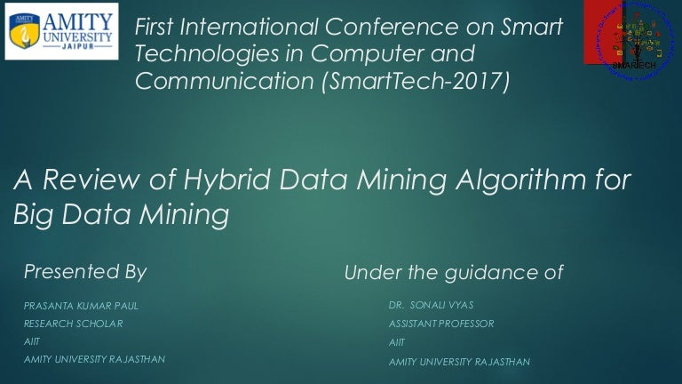 data mining techniques and algorithms pdf