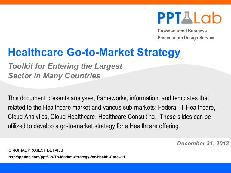 Healthcare Go-to-Market Strategy