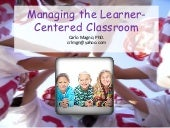 managing the learner centered-classroom