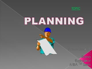 Ppt of planning