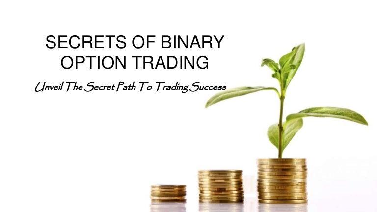 Binary options secrets pdf
