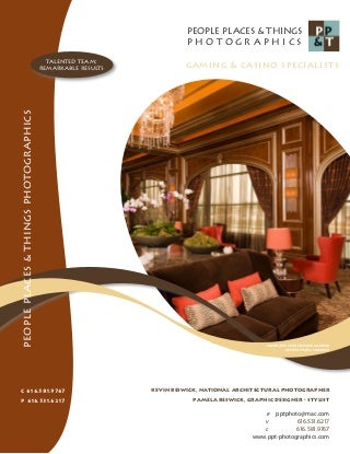 People Places & Things Photographics Harrahs Horseshoe Casino Brochure