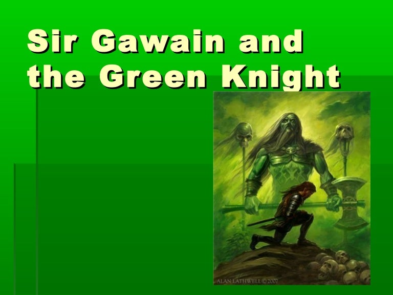 ppt sir gawain and the green knight