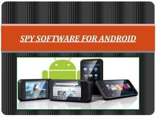 spy android software