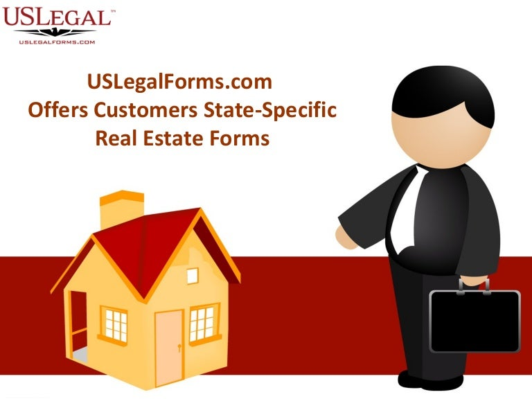 Uslegalforms Com Offers Customers State Specific Real Estate Forms