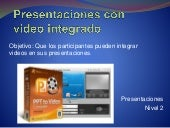 Ppt y video
