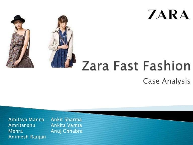 Case Study Zara  Zara Fast Fashion Report  zara