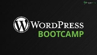 Boot Camp: WordPress