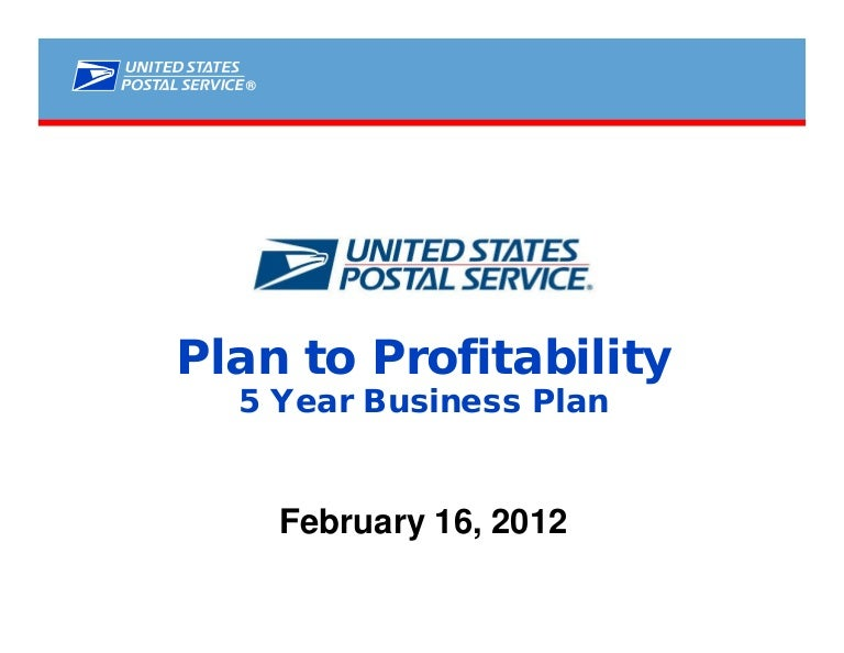 Postal service five year business plan references for research paper apa