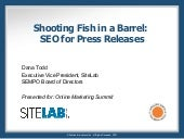 PR 2.0: Shooting Fish in a Barrel