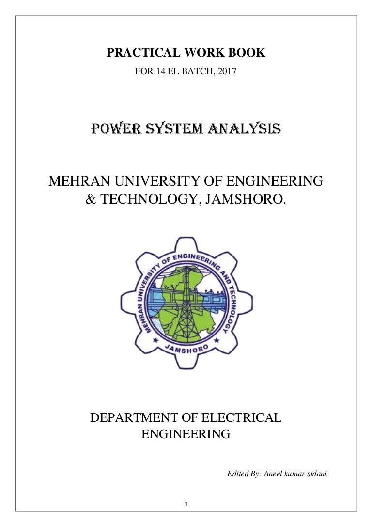 Practical Of Power System Analysis Psa This Three Phase Is Called Star