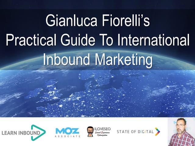 Practical guide to international Inbound Marketing