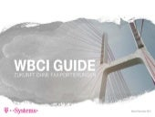 WBCI Guide von T-Systems Multimedia Solutions