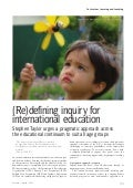 A Pragmatic Approach to Inquiry