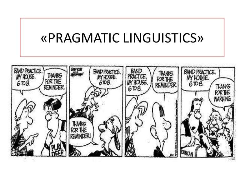 Pragmatic?