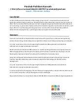 pradeep resume salesforce certified
