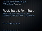What Rock Stars Know About Online Promotions That You Don't... But Need To!