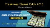 Who Is the Favorite and What are the Preakness Stakes Odds 2018?