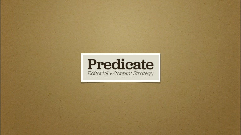 Predicate | The Day 2 Problem: A Tour of Editorial Strategy