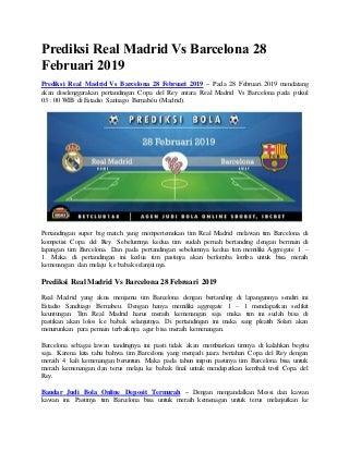 ver partido copa del rey barcelona