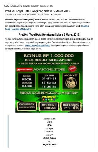 daftar togel sgp 2004 sampai 2017