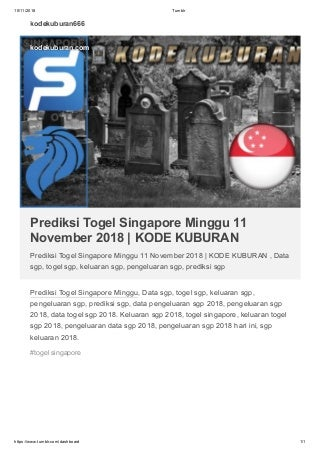 togel singapore data keluaran 2018