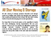 All star Moving Services Reviews
