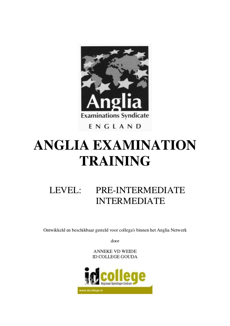anglia examinations past papers intermediate Assessment policy, development and administration, contact osa university of the state of new york - new york state education department.