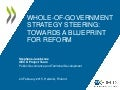 Public Governance Review of Estonia & Finland - Preliminary Findings on Whole-of-Government Strategy