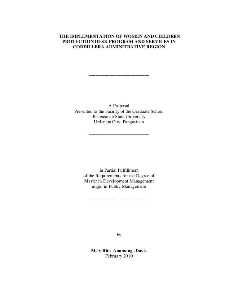 thesis ra 9262