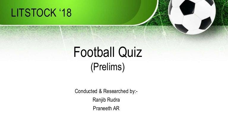 Litstock 18 Football Quiz Prelims