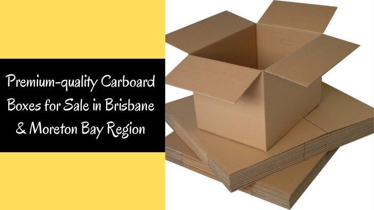 Premium-quality Carboard Boxes for Sale in Brisbane & Moreton Bay Region