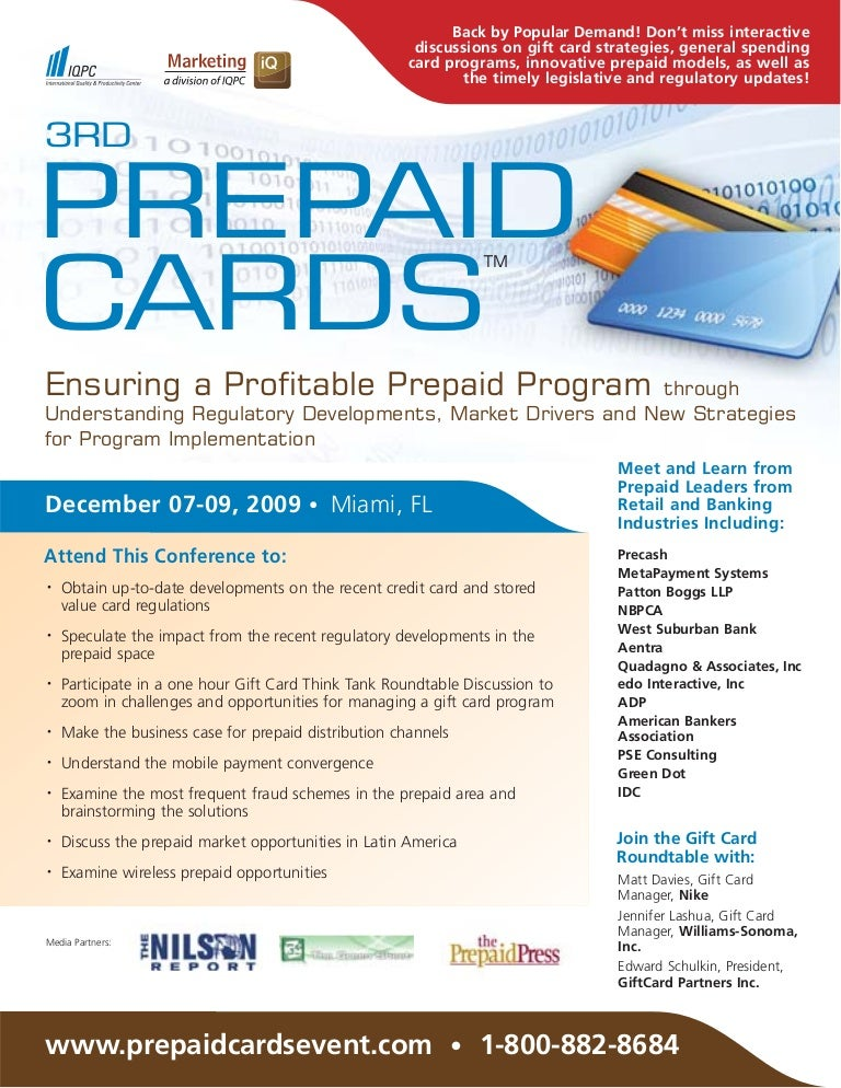 3rd Prepaid Cards Conference