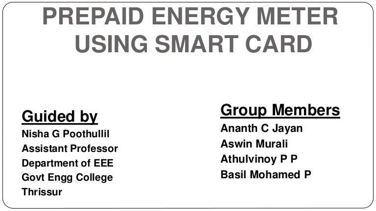 Prepaid energy meter |authorstream.