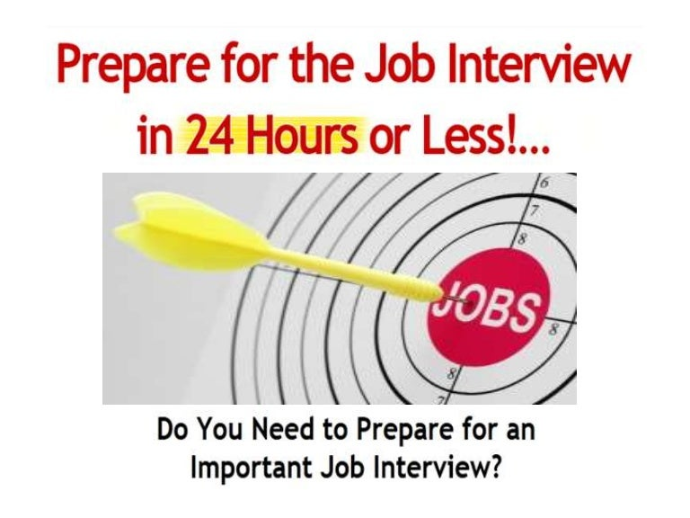 how to prepare for a first job interview