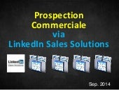 Preparer sa Prospection Commerciale via Linkedin