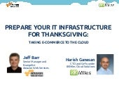 Preparing your IT infrastructure for thanksgiving