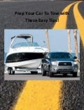 Prep Your Car to Tow with These Easy Tips!