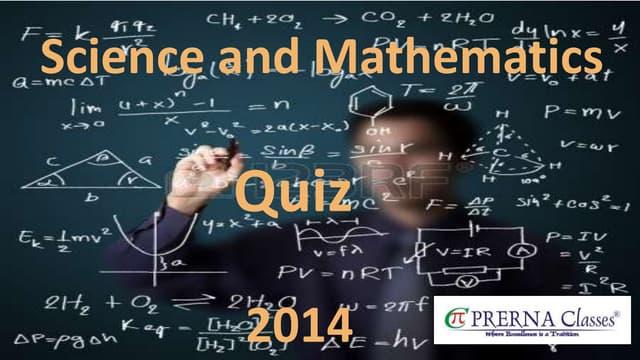 Prerna Quiz 2014