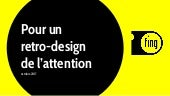 Pour un rétro-design de l'attention