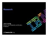 IBM Research: IBM 2010 Investor Briefing