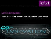 What's Open Innovation and Induct?